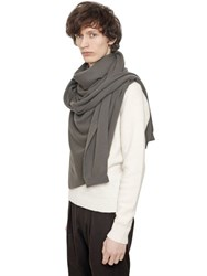 Christophe Lemaire Asymmetrical Cashmere Shawl