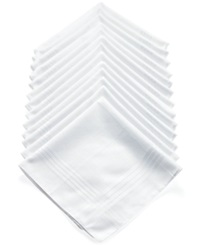 Club Room Handkerchiefs 13 Pack White