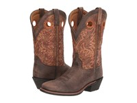 Laredo Stillwater Brown Tan Cowboy Boots