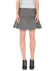 Frankie Morello Skirts Mini Skirts Women Black