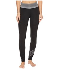 Marmot Fore Runner Tights Black Grey Storm Women's Workout