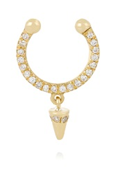 Ileana Makri Spike 18 Karat Gold Diamond Nose Ring