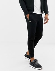 Lacoste Sport Slim Fit Logo Sweat Joggers In Black