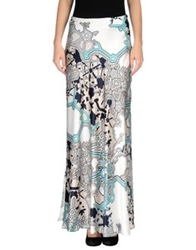 1 One Long Skirts Turquoise