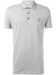 Versace Collection Classic Polo Shirt Nude Neutrals