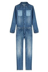 Valentino Denim Jumpsuit
