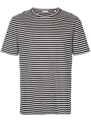 Gieves And Hawkes Striped T Shirt Black