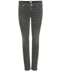 Citizens Of Humanity Racer Low Rise Skinny Jeans Grey