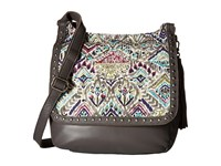 Sakroots Artist Circle Seni Flap Crossbody Slate Brave Beauti Cross Body Handbags Multi