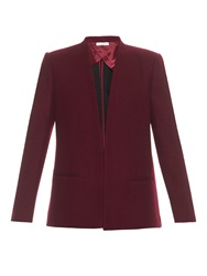 Barbara Casasola Wrap Front Wool Jacket