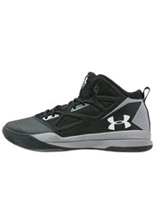 Under Armour Jet Basketball Shoes Black Steel White