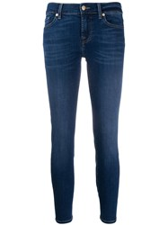 7 For All Mankind Roxanne Cropped Skinny Jeans 60