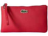 Lacoste L.12.12 Concept Clutch Virtual Pink Clutch Handbags