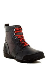 Sorel Ankeny Mid Hiker Ripstop Waterproof Boot Black