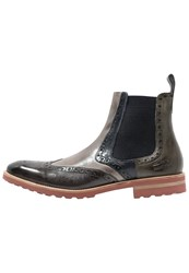 Melvin And Hamilton Eddy 13 Boots Infant Stone Smog Navy Marble Oliv