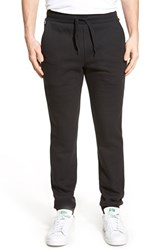 Men's Lacoste Fleece Sweatpants Black