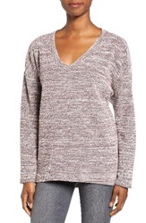 Kut From The Kloth Women's Akiko Rib Knit Top New Mauve