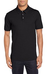 Velvet By Graham And Spencer Men's 'Randall' Slub Knit Polo
