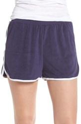 Make Model Baby Terry Lounge Shorts Navy Dusk