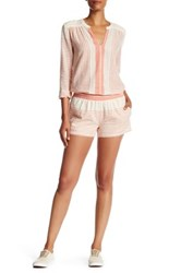 Soft Joie Ava Striped Short Orange