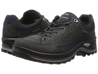 Lowa Renegade Iii Gtx Lo Dark Grey Navy Men's Shoes Gray