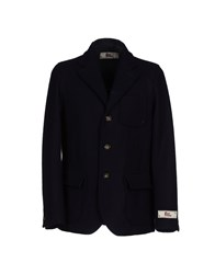 Roy Rogers Roy Roger's Suits And Jackets Blazers Men Dark Blue