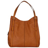 John Lewis Becky Triple Shoulder Bag Tan