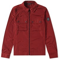 Belstaff Shawbury Shirt Jacket Red