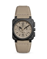 Bell And Ross Br 03 94 Desert Type Chronograph 42Mm Taupe