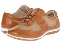 Revere Seattle Luggage Tan Women's Flat Shoes