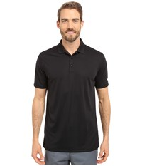 Nike Victory Solid Polo Black White Men's Short Sleeve Pullover