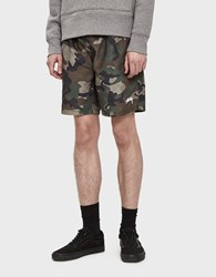 Stussy Water Shorts In Camo