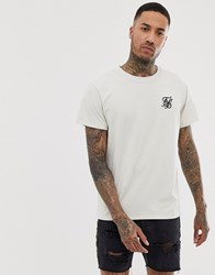 Sik Silk Siksilk Oversized T Shirt In White With Logo
