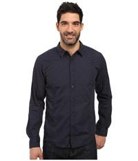 Prana Lukas Shirt Nautical Men's Long Sleeve Button Up Multi