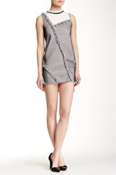 Few Moda After Party Vintage Down The Line Dress Gray