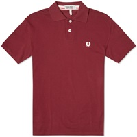 Fred Perry X Nigel Cabourn Original 1952 Pique Polo Maroon