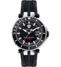 Versace Vak010016 V Race Diver Stainless Steel Watch