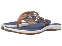 Sperry Seabrook Wave Stars And Stripes Red White Blue Women's Sandals Multi