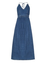 Rachel Comey Palma Denim Midi Dress