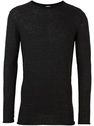 Diesel Crew Neck Jumper Black