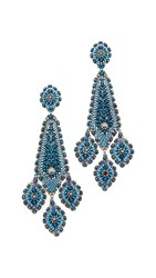 Miguel Ases Charlotte Earrings Navy Multi