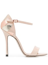 Marc Ellis Petal Detail Sandals Neutrals