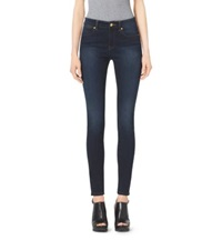 Michael Kors High Waisted Skinny Jeans Midnight