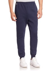 Lacoste Cotton Blend Sweatpants Navy