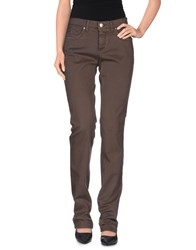 Trussardi Jeans Denim Denim Trousers Women Beige