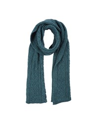 M.Grifoni Denim Oblong Scarves Green