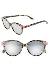 Women's Marc By Marc Jacobs 'Preppy' 51Mm Retro Sunglasses Havana Fuschia Havana
