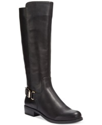 Alfani Jarabina Tall Wide Calf Boots Only At Macy's Women's Shoes Black