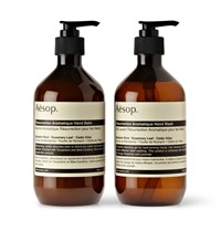 Aesop Resurrection Duet Hand Wash And Balm 2 X 500Ml Colorless