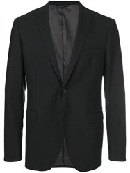 Tonello Tailored Suit Jacket Black